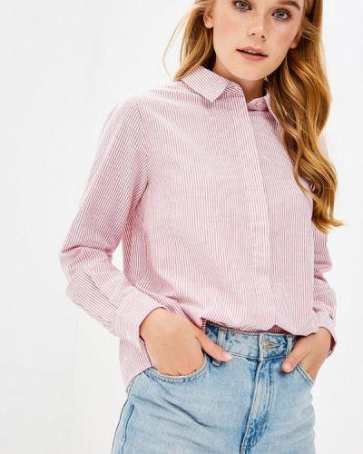 Розовая рубашка с длинным рукавом Tommy Hilfiger