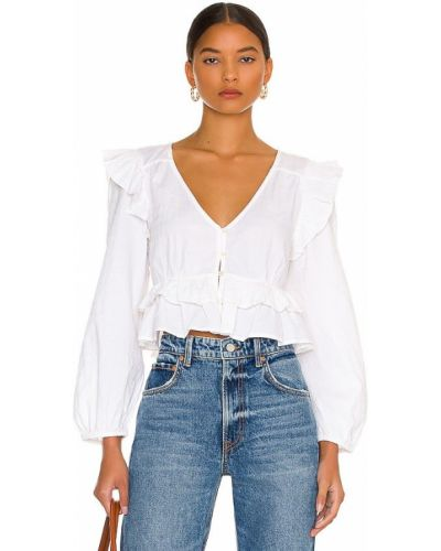 Льняная блузка Cleobella