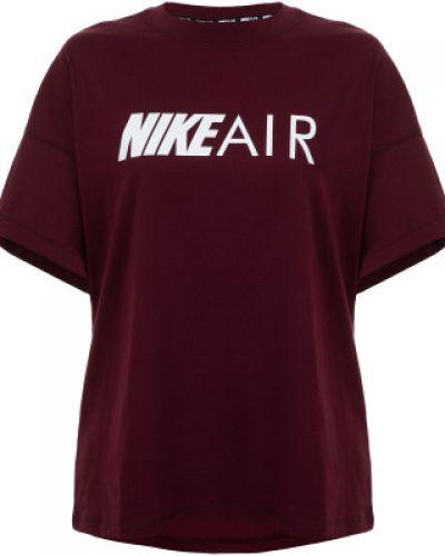 Спортивная футболка свободная хлопковая Nike