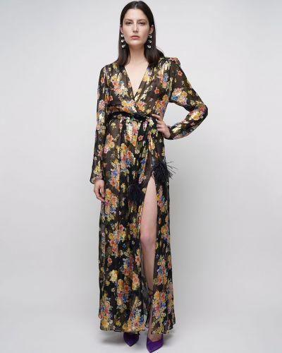 Платье макси с завышенной талией на пуговицах The Attico