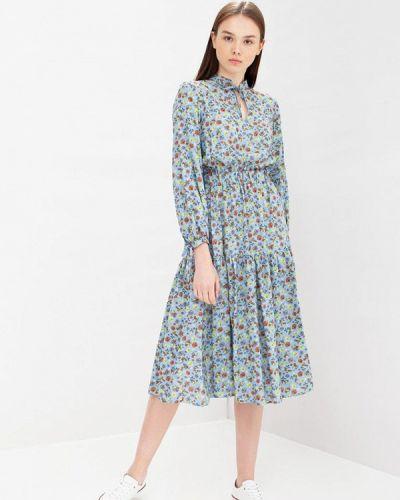 Платье - голубое Oks By Oksana Demchenko