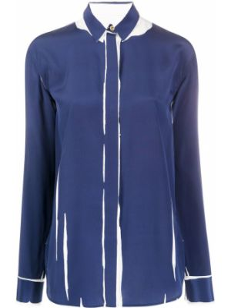 Рубашка свободного кроя на пуговицах Paul Smith