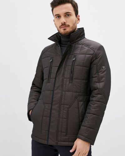 Утепленная куртка - коричневая Dtmd