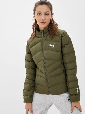 Утепленная куртка - хаки Puma