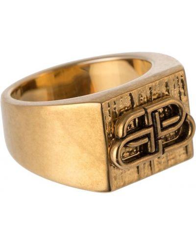 Кольцо золотое Balenciaga