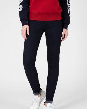 Черные джинсы-скинни с пайетками G-star Raw