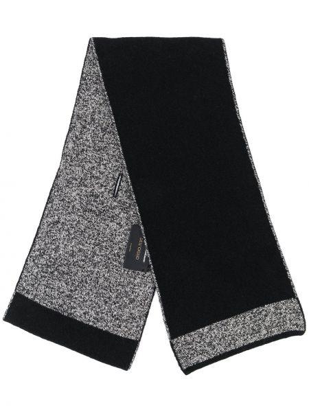 Черный шарф Dell'oglio