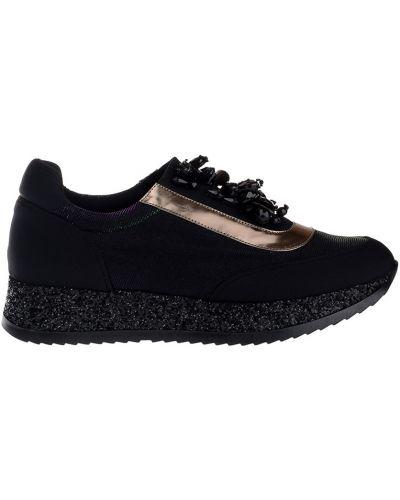 Кроссовки черные Lemat