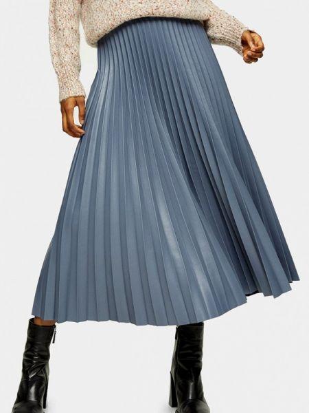 Плиссированная юбка весенняя Topshop
