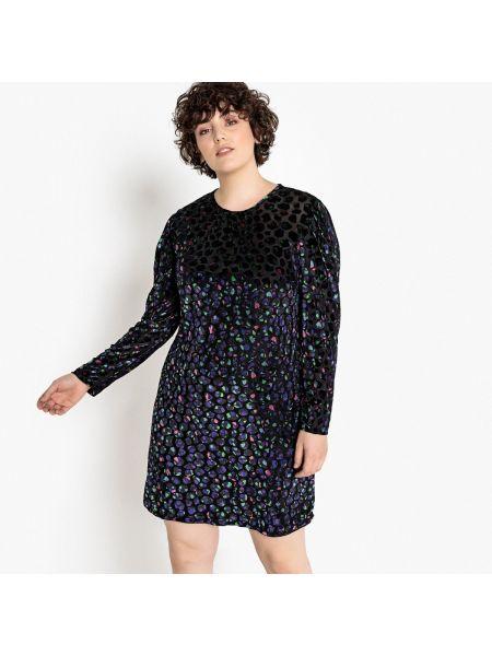 Платье мини миди велюровое Castaluna