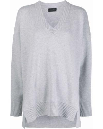 Кашемировый свитер - серый Roberto Collina