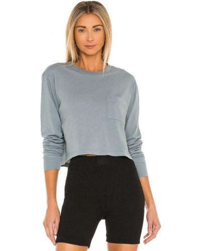 Jeansy bawełniane z długimi rękawami Monrow