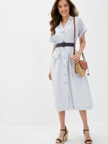 Платье - голубое Villagi