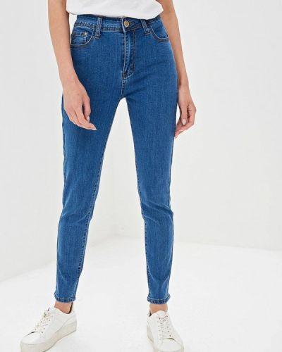 Зауженные джинсы - синие Bruebeck