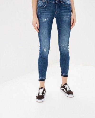 Синие джинсы-скинни G-star