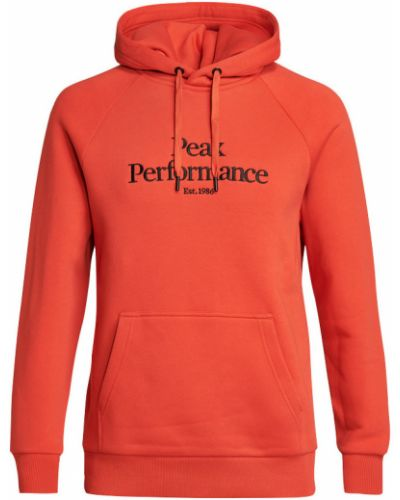 Pomarańczowa bluza Peak Performance