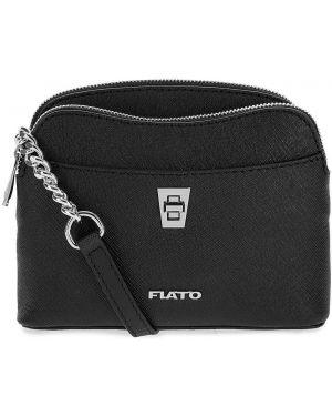 Кожаная сумка через плечо маленькая Fiato