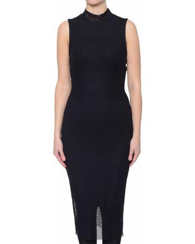Платье из полиэстера - черное Kendall + Kylie
