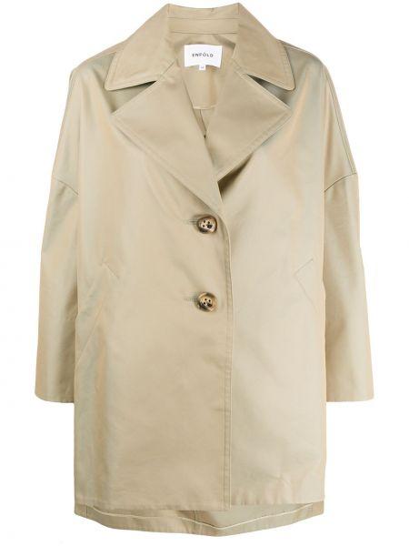 Płaszcz bawełniany - beżowy Enfold