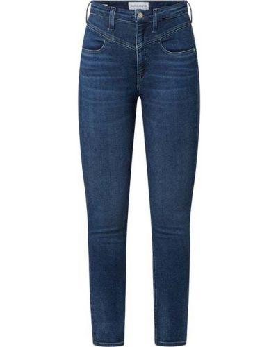 Niebieskie jeansy skinny Calvin Klein Jeans