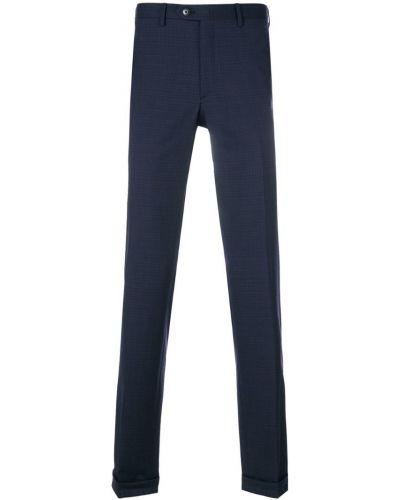 Синие брюки Brioni