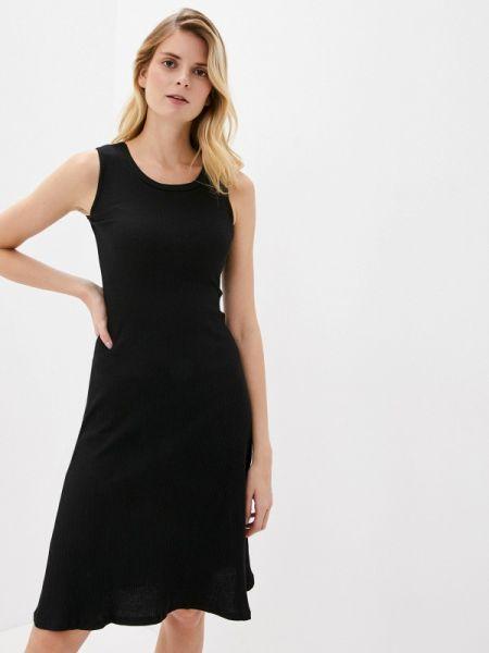 Платье прямое черное By Swan