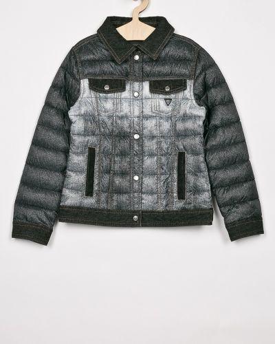 Куртка прямая стеганая Guess Jeans