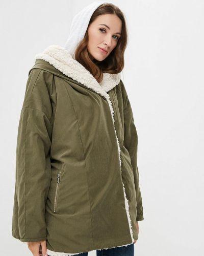 Утепленная куртка осенняя демисезонная Junarose