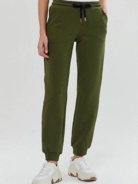Спортивные зеленые спортивные брюки Moru