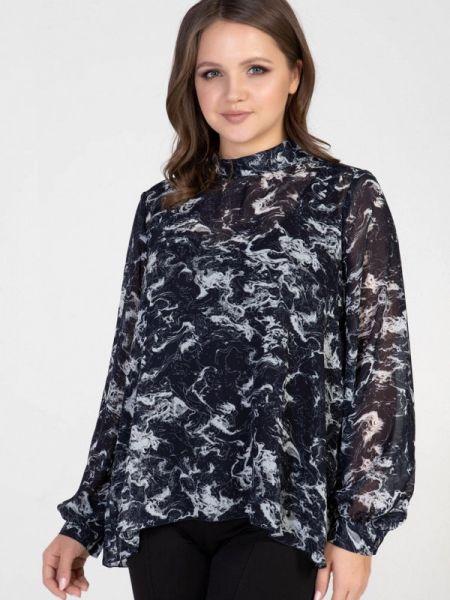 Серая блузка с длинным рукавом Prima Linea