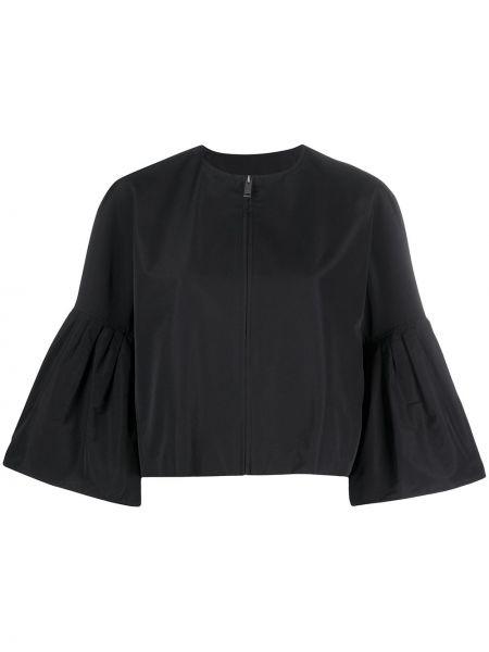 Czarna długa kurtka bawełniana Givenchy