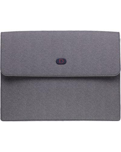Портфель текстильный серый Tigamaro