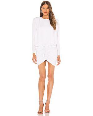 Платье мини винтажная через плечо Retrofete