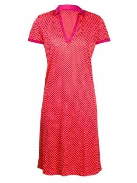 Повседневное платье - красное Napapijri