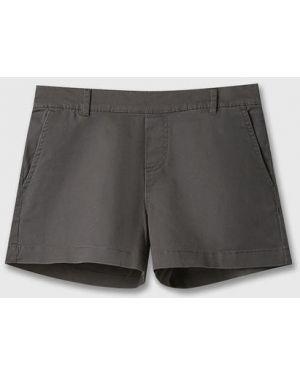 Базовые шорты с карманами хаки Ostin