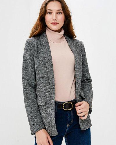 Серый пиджак осенний Only