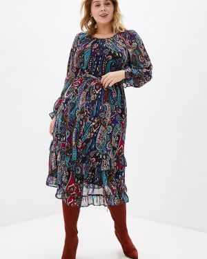 Разноцветное платье Evans