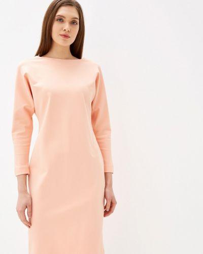 Платье розовое прямое Imago