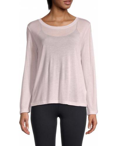 T-shirt z długimi rękawami - różowa Helmut Lang