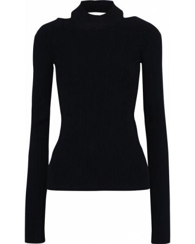 Sweter - czarny Helmut Lang