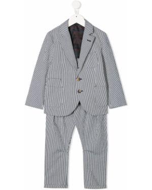 Garnitur kostium długo Brunello Cucinelli Kids