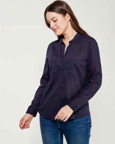 Синяя блузка Violeta By Mango