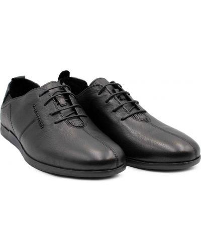 Кожаные туфли - черные Cosottinni