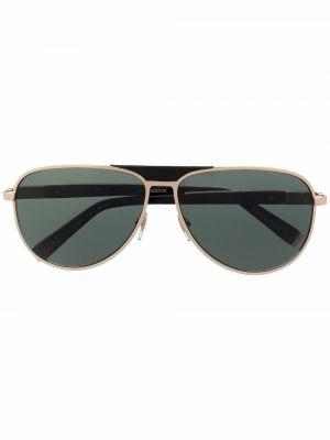 Солнцезащитные очки металлические - черные Zilli