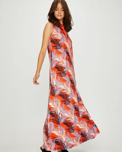 Платье макси на пуговицах прямое U.s. Polo