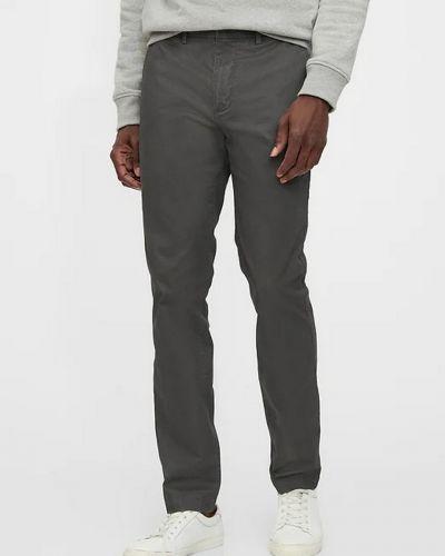 Облегающие зауженные джинсы - серые Gap