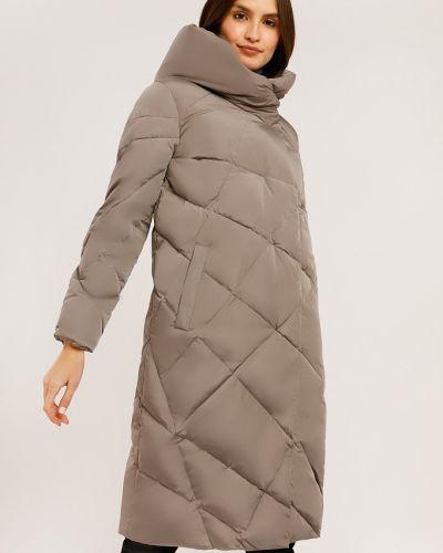 Пуховик-пальто - коричневый Finn Flare