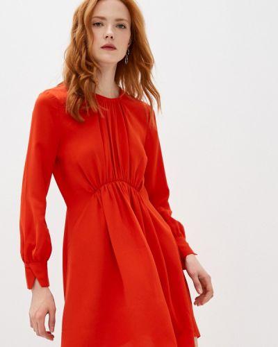 Повседневное красное платье French Connection