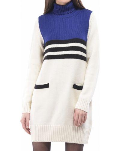 Бежевое платье Love Moschino