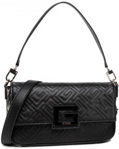 Черная сумка через плечо из искусственной кожи Guess